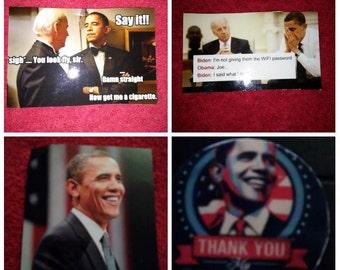 Barack Obama magnets 4