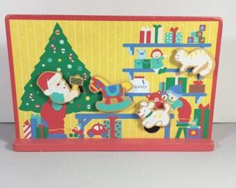 Anatomische beweglichen Teile aufziehen Weihnachts-Musik-Box. Spielzeugland