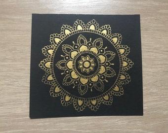 Golden Mandala 5