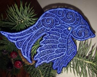 Lace Bird Ornament