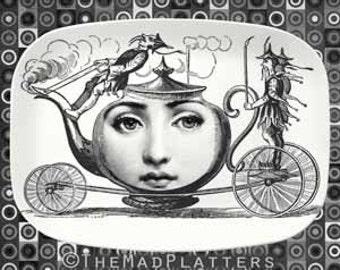 tea party time Cavalieri platter
