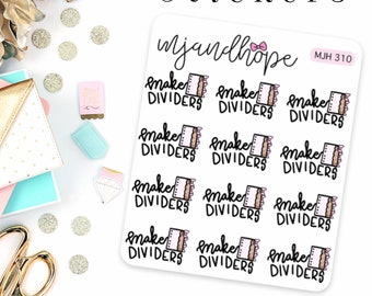 Make Dividers Stickers