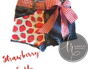 Strawberry Fields Boutique Shorts Girls Summer