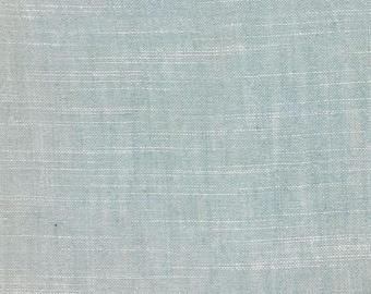 Organic Cotton Chambray-Mineral