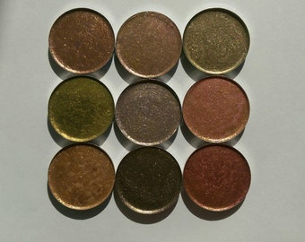 Bundle of 9 Pressed Eyeshadows 36.mm Pans (Only 1 Available)