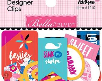 Addison Designer Clips by Bella Blvd, paper clips