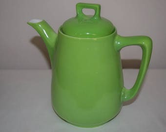 Vintage Retro Servex Oven China Bohemia - Made in Australia Apple Green Coffee Pot