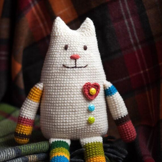Häkeln Sie Katze Spielzeug-Muster häkeln häkeln Amigurimi