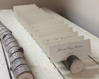 Long Elegant Branch Woodland Multi Place Card Escort Card Holder  for Weddings, Business, Crafter, Artists