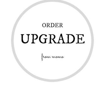 Order Upgrade for Customized FromMOMO Customers