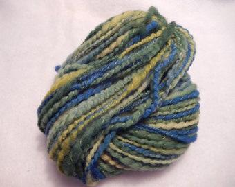 Handspun Yarn - Lawn Meets Sky