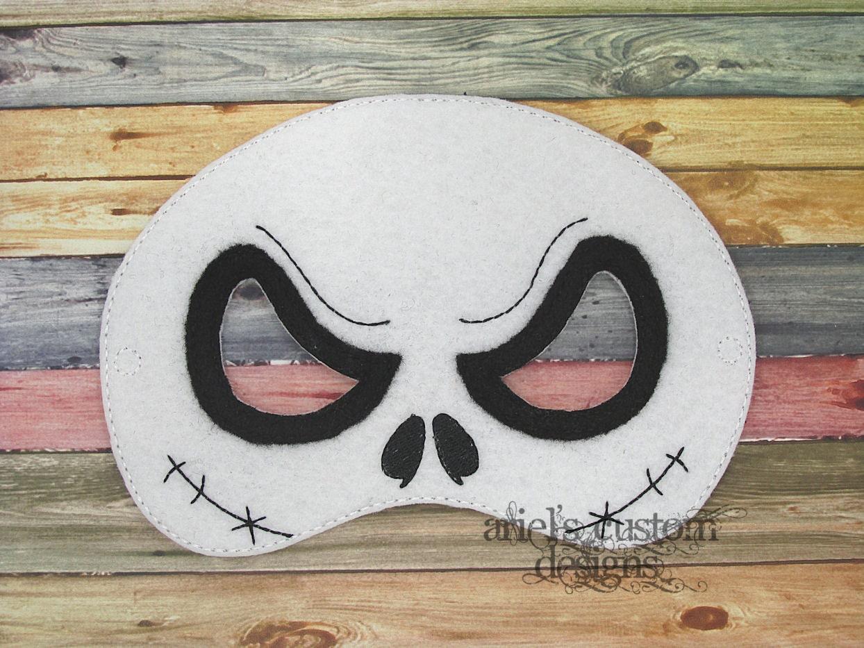 Jack Skellington Mask Skull Mask Nightmare Before