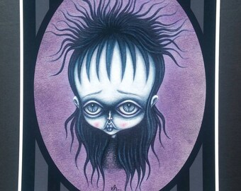 Strange and Unusual - Limited edition Fine art giclee print