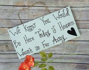 Memorial Sign For Wedding, Memorial Table Sign, Memorial Plaque, In Loving Memory, Wooden Memory Sign, Rustic Wedding Sign, Wedding Signage