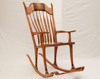 rocking chair maloof-sedia a dondolo