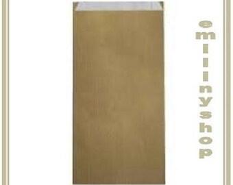 lot 25 pouches bags bags envelopes kraft 12 x 4 x 21 beige