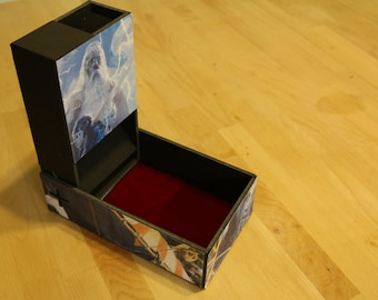 Dice Tower - Collapsable - PATTERN ONLY