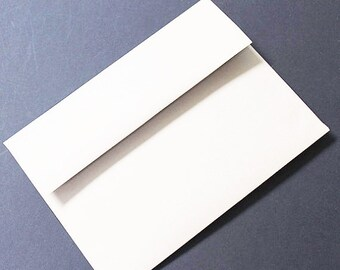 White A6 Envelope - 50/pk | A6 envelopes | 50/pk
