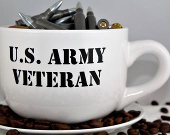 Military-US ____ Veteran-Served-Coffee Mug