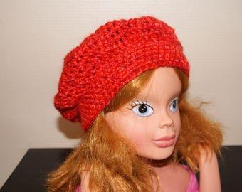 PRETTY RED KIDS HAT