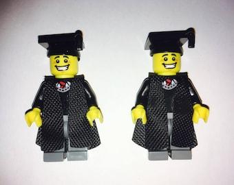 Graduation Minifigure Cufflinks