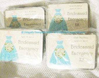 Bridesmaids Gift Bridesmaids Gifts Bridesmaids kits Bridesmaids Emergency kit Bridal party gift