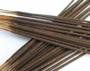 CINNAMON VANILLA (Cinilla) Hand Dipped Incense Sticks - Batch of 20