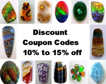 Discount Coupon Codes - Not for Purchase!