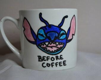 """Handmade Disney's """"Stitch"""" Mug"""