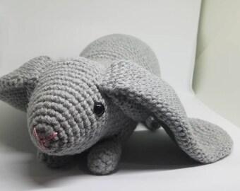 Crochet Amigurumi English Lop Bunny