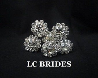 Rhinestone Crystal Bridal Hair Pins