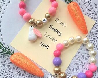 LAST ONE, Easter bracelet, rabbit bracelet, easter jewelry, ONE (1) bracelet, kids jewelry, kids bracelet, child bracelet.