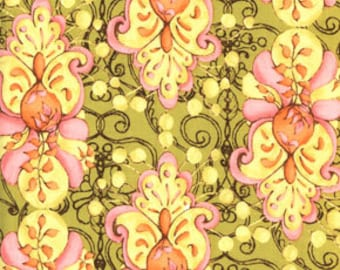 Rare Tina Given's Cloe's Imagination Eclectic Layer TG42 Marigold Plaza
