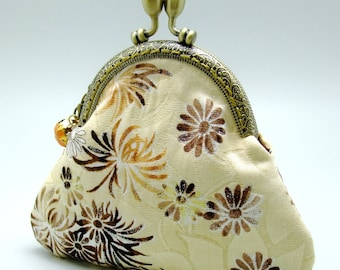 Chrysanthemum - Small clutch / Coin purse (S-298) R1
