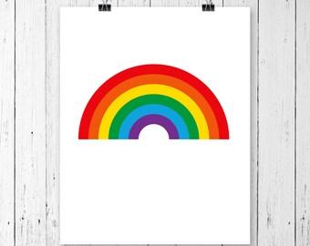 INSTANT DOWNLOAD! SVG, Rainbow svg, Rainbow cut file, Rainbow with magic svg, Rainbow clipart, Rainbow vector