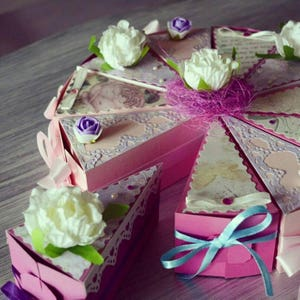 Awesome paper cake surprize