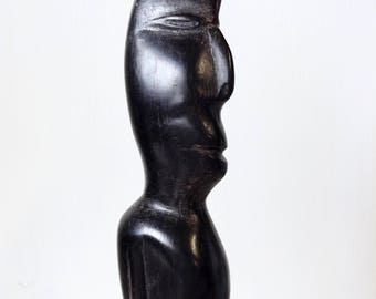 Carved Ebony Figure, 27 cm