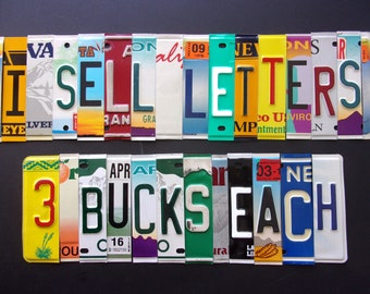 WHOLESALE LICENSE PLATE characters.  I offer cool accessories too !!