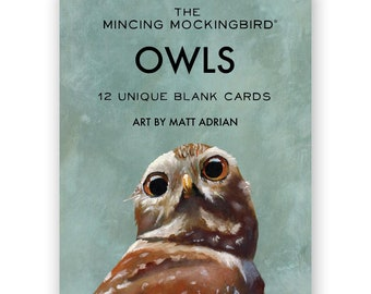 Matt Adrian Owl Box Set of 12