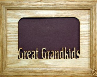 Great Grandkids Picture Frame 5x7