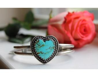 Kingman Heart bracelet