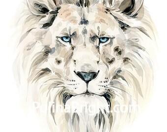 Lion Print, Safari Animal Wall Art, Lion Animal Print, Lion Wall Art, Lion Photo, Home decor