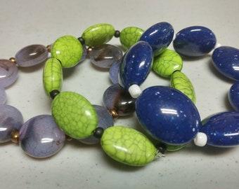 Acyrlic Fun Bracelets