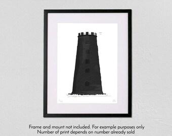 Black Mill - Limited Edition - A3 fine art giclée print