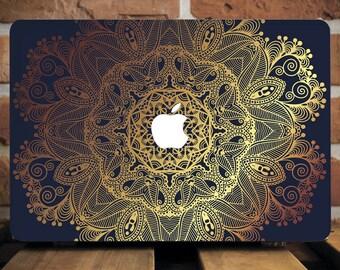 Gold Henna Macbook Pro 13 Case Macbook Retina 15 Hard Case Macbook Air 13 Case MacBook Air 11 Hard Case Macbook 12 Case Laptop Case WCM2084