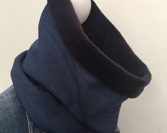 Cowl, neck warmer, infinity scarf.