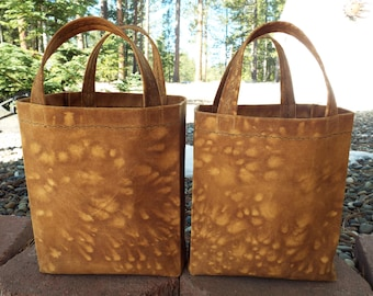 brown canvas shopping bag,coffee stained canvas,grocery bag,tote,market bag