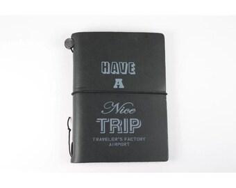 Narita Limited Edition Midori Traveler's Notebook Passport size (black) last one