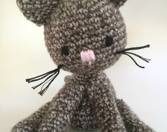 Crochet Kitty Plush Toy