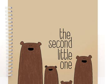 the second BROWN BEARS - Baby Book, Baby Memory Book, Baby Shower Gift, Baby Journal, Baby Album, Keepsake